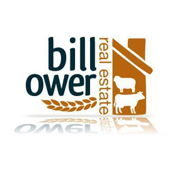 Bill Ower Real Estate logo designed by Phunkemedia