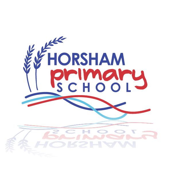 Horsham Primary School logo designed by Phunkemedia
