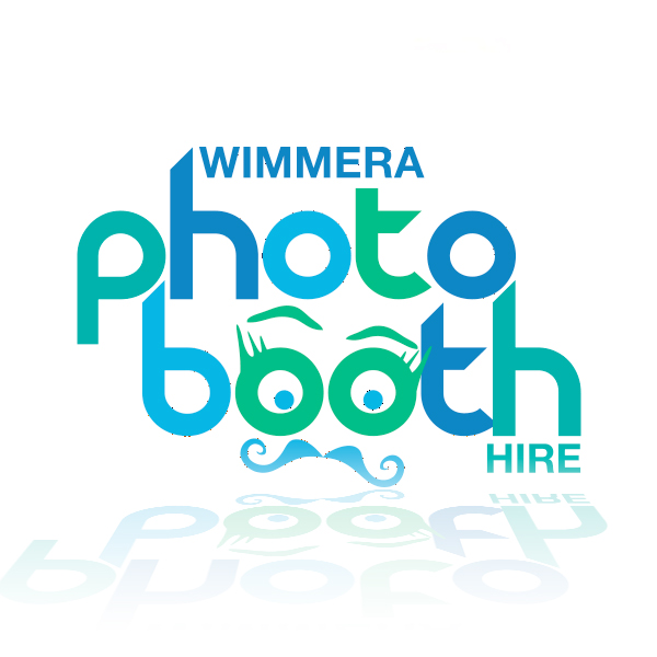 Wimmera Photo Booth Hire logo designed by Phunkemedia