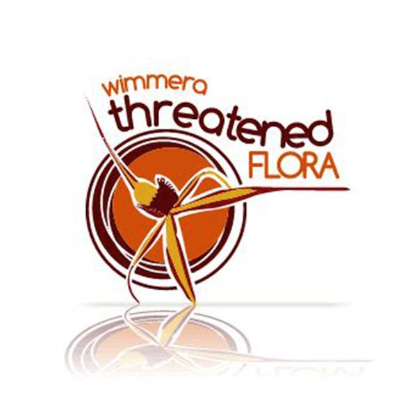 Wimmera Threatened Flora logo designed by Phunkemedia